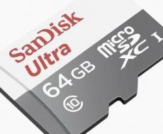 Brand new Sandisk Ultra 64G micro disk