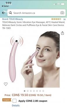 Touch Beauty Sonic Eye Device